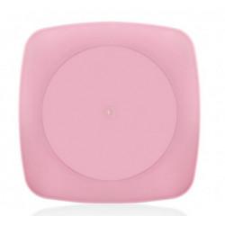 Тарелка пластиковая 20х20см Bager Clover square MIX BG-407