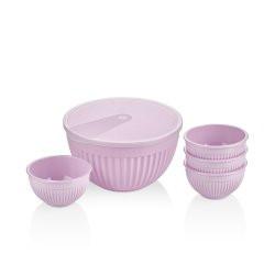 Набор пластиковых салатников Bager MIX BG-449