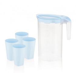 Набор для напитков пластиковый 5пр Blue BG-424 B
