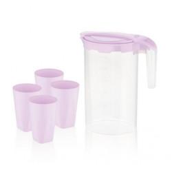 Набор для напитков пластиковый 5пр Lilac BG-424 L