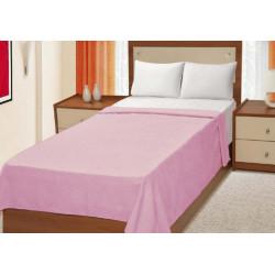 Простынь махровая 150Х200 Home line РУЯ - Розовая 56802