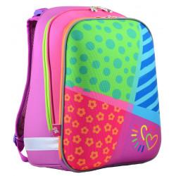 Рюкзак каркасный H-12 Bright colors 1 Вересня 554581
