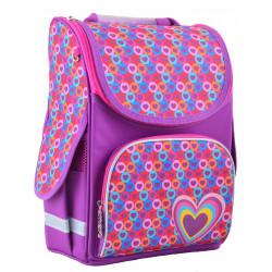 Рюкзак школьный PG-11 Hearts pink 1 Вересня 554440
