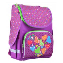 Рюкзак школьный PG-11 Hearts pink 1 Вересня 554447