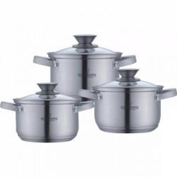 Посуда Bohmann 6ч BH0516 (2.1л, 2.9л, 3.9л)