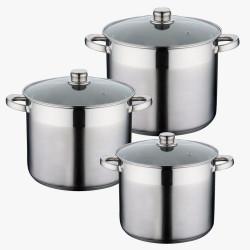 Посуда stock pot Peterhof 6пр. PH15199 (7,5л,9,5л,12л)
