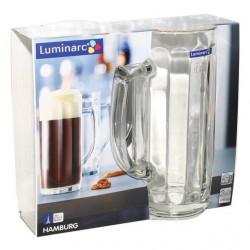 Набор кружек для пива Luminarc Hamburg 500мл-2шт