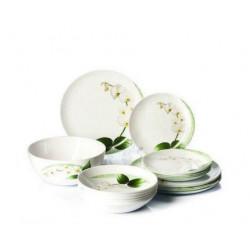 Сервиз столовый 46пр Luminarc White Orchid P0328