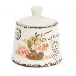Сахарница керамическая 200мл Провансальская Роза Bona Di 935-108