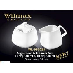 Набор сахарница+ молочник -2пр.Color Wilmax WL-995028