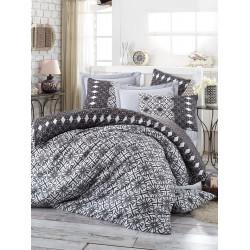 Комплект постельного белья евро LightHouse Alize серый