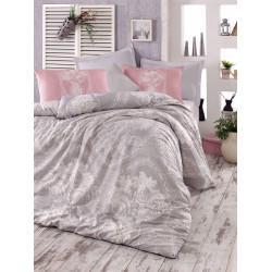 Комплект постельного белья евро LightHouse Madam Lili серый