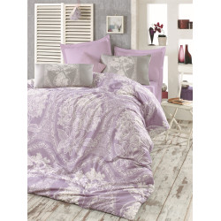 Комплект постельного белья евро LightHouse Madam Lili сиреневый