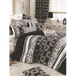 Комплект постельного белья евро LightHouse Sema серый