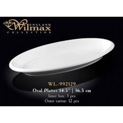 Wilmax Блюдо глубокое овальное 36,5см WL-992129