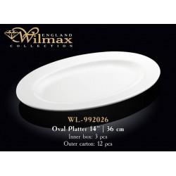 Wilmax Блюдо овальное с-полями 36см WL-992026