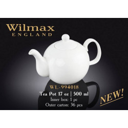 Wilmax Чайник заварочный 500мл.Color WL-994018
