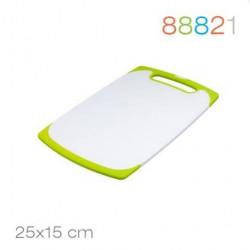 Доска разделочная 25*15*0.9 зеленая Granchio 88821