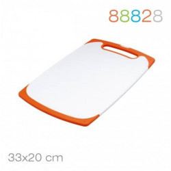 Доска разделочная 33*20*0.9 оранж. Granchio 88828