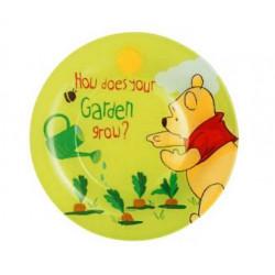 Luminarc Disney Winnie Garden.Тарелка десертная круглая 19см H6427