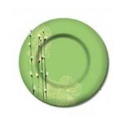 Тарелка глубокая 21,5см Luminarc Rhapsody Green H8552