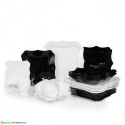 Сервиз столовый 30пр Luminarc Authentic Black&White E6199