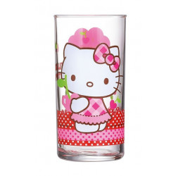 Стакан высокий 270мл Luminarc Disney Hello Kitty Cherries J0028