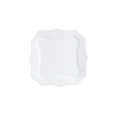 Luminarc Authentic White Тарелка подставная квадратная 29см