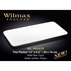 Блюдо плоское Wilmax 30х16см WL-992620