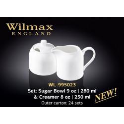 Набор сахарница и молочник-2пр Wilmax WL-995023
