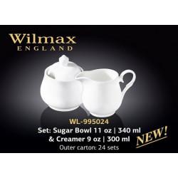 Набор сахарница и молочник -2пр Wilmax WL-995024