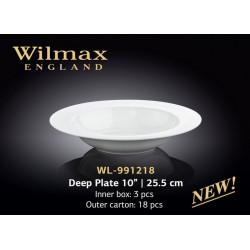 Тарелка глубокая  25,5см Wilmax WL-991218