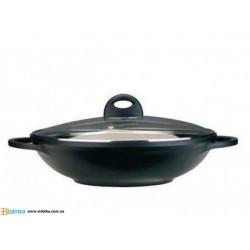 Сковорода Вок BergHOFF Cook&Co Cast Line d32 см v6,5 л 2801284