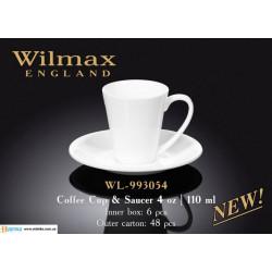 Чашка кофейная&блюдце 110мл Wilmax WL-993054