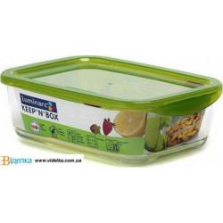 Luminarc Keep'n'Box емкость для еды  прямоугольная 1160мл.Е G3255