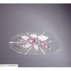 Канапэ 410мм Evita w5500  Satin-Rose Walther-Glas