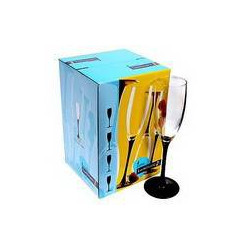 Luminarc Domino Набор бокалов/шампанское 170мл-4шт