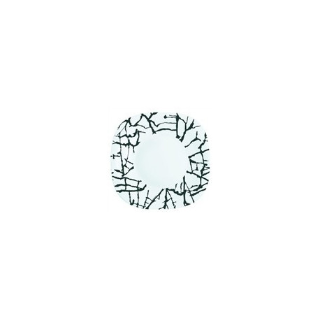 Luminarc Dripping White Тарелка глубокая квадратная 21см
