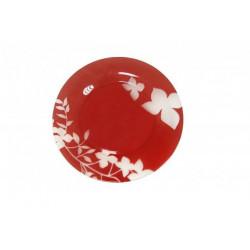 Тарелка обеденная 25см Luminarc Maissa Red J3169