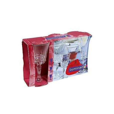 Набор бокалов для вина Luminarc Imperator 170мл-3шт