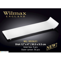 Блюдо 30,5x9,5см Wilmax WL-992621