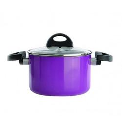 Кастрюля BergHOFF Eclipse фиолетовая d24 см v6,6 л 3700146
