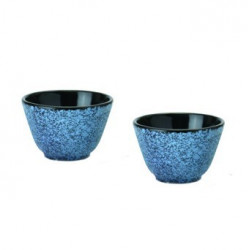 Набор чашек для чая чугунных, голубые (2 шт.) BergHOFF 1107057