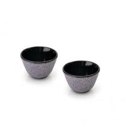 Набор чашек для чая чугунных, пурпурные (2 шт.) BergHOFF 1107058