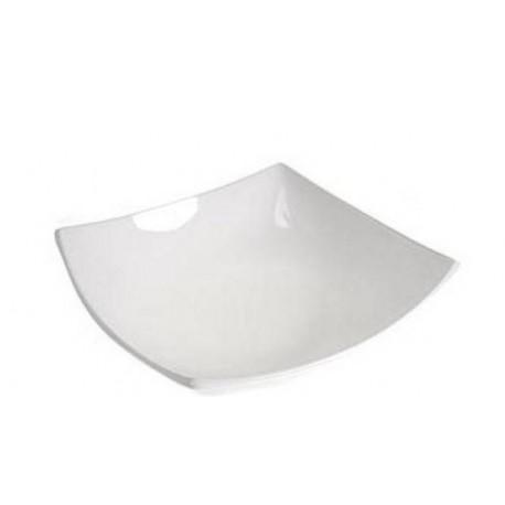 Тарелка глубокая 20см Luminarc Quadrato White H3659