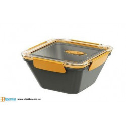 Котейнер EMSA BENTO BOX серо-оранжевый, 1,5л EM 513957
