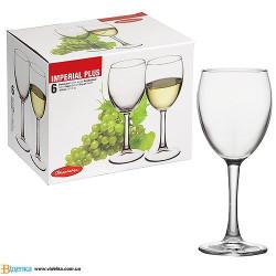 Набор бокалов для вина 190мл/6шт Imperial Pasabahce 44789