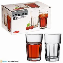 Набор стаканов 280мл/6шт Casablanca Pasabahce 52713