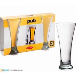 Набор бокалов для пива 300мл 3 шт Pub Pasabahce 42199