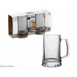 Кружки для пива 300мл/2шт Pub Pasabahce 55299